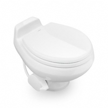 DOMETIC TRAVELER TOILET 301 SHORT WHITE PLASTIC